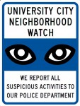 University City Neighborhood Watch