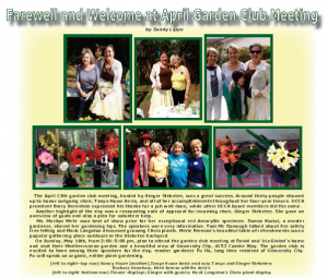Garden Club April 2014