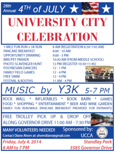 Celebration 2014 Flyer