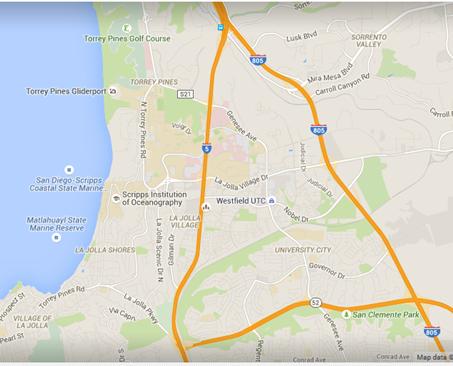 UC Google Map