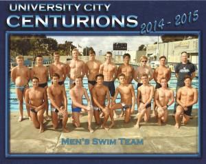 UCHS boys men's swim team
