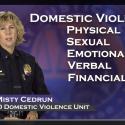 Lt Misty Cedrun Family Justice Domestic Violence