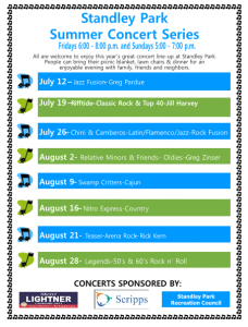 UC Summer Concerts 2015
