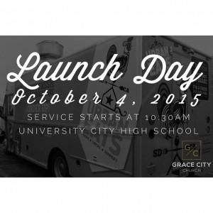 Launch Day Grace City Church