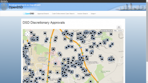 DSD Discretionary Approvals Map