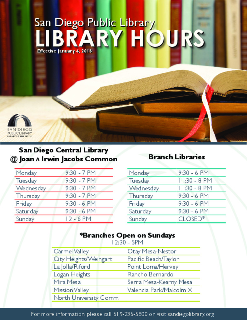 thumbnail of Library New Hours 2016