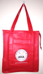 Red Buy Local Bag