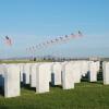 VA Cemetary Avenue of Flags