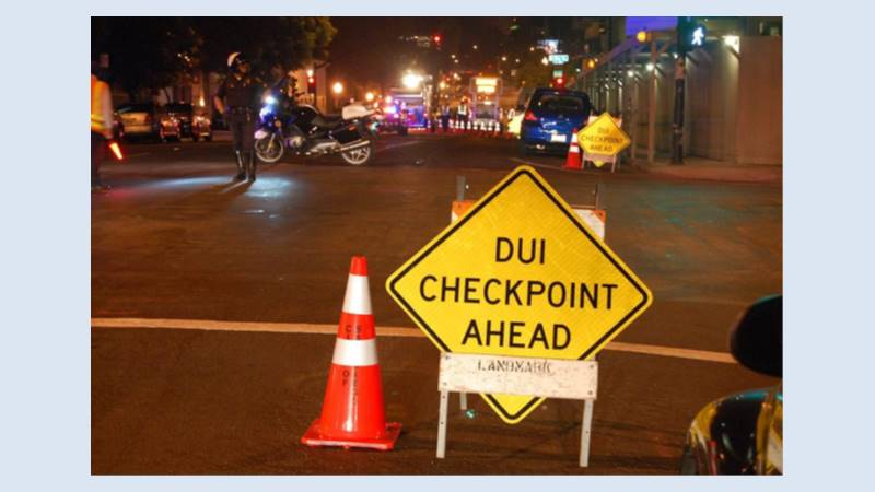 Newly licensed driver? SDPD announces DUI checkpoint and