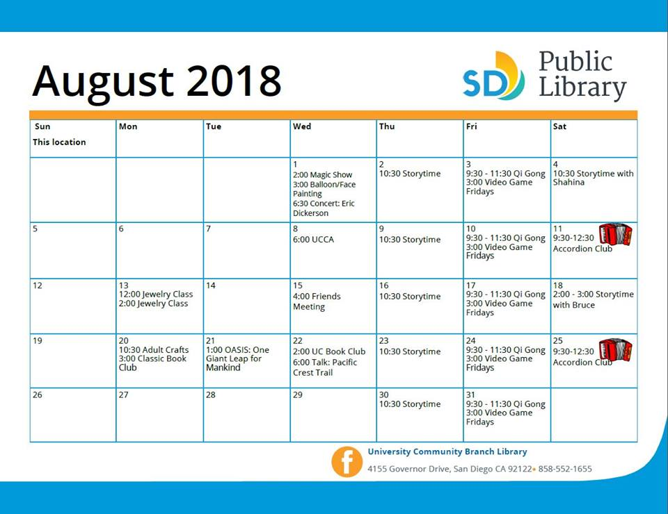 University Community Library on Governor issues July