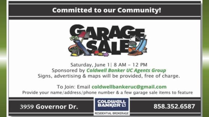 Hey neighbors, when is the annual community-wide garage sale