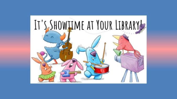 2019 Summer Reading Program: It's Showtime at your Library