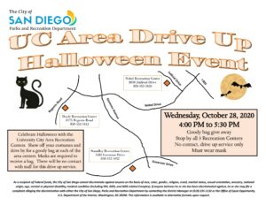 Halloween Events October 28 2020 Save the Date October 28: It's University City's Drive Up