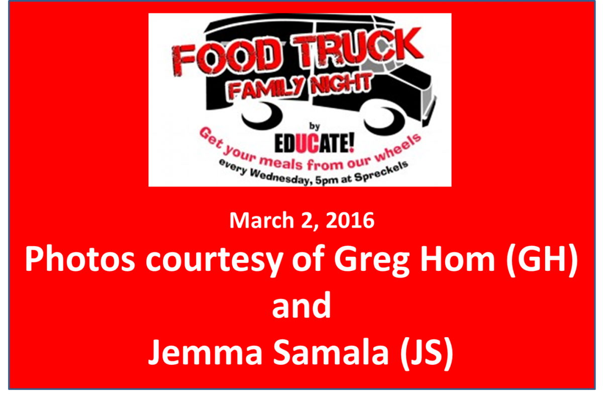 Food Truck Family Night March 2 2016