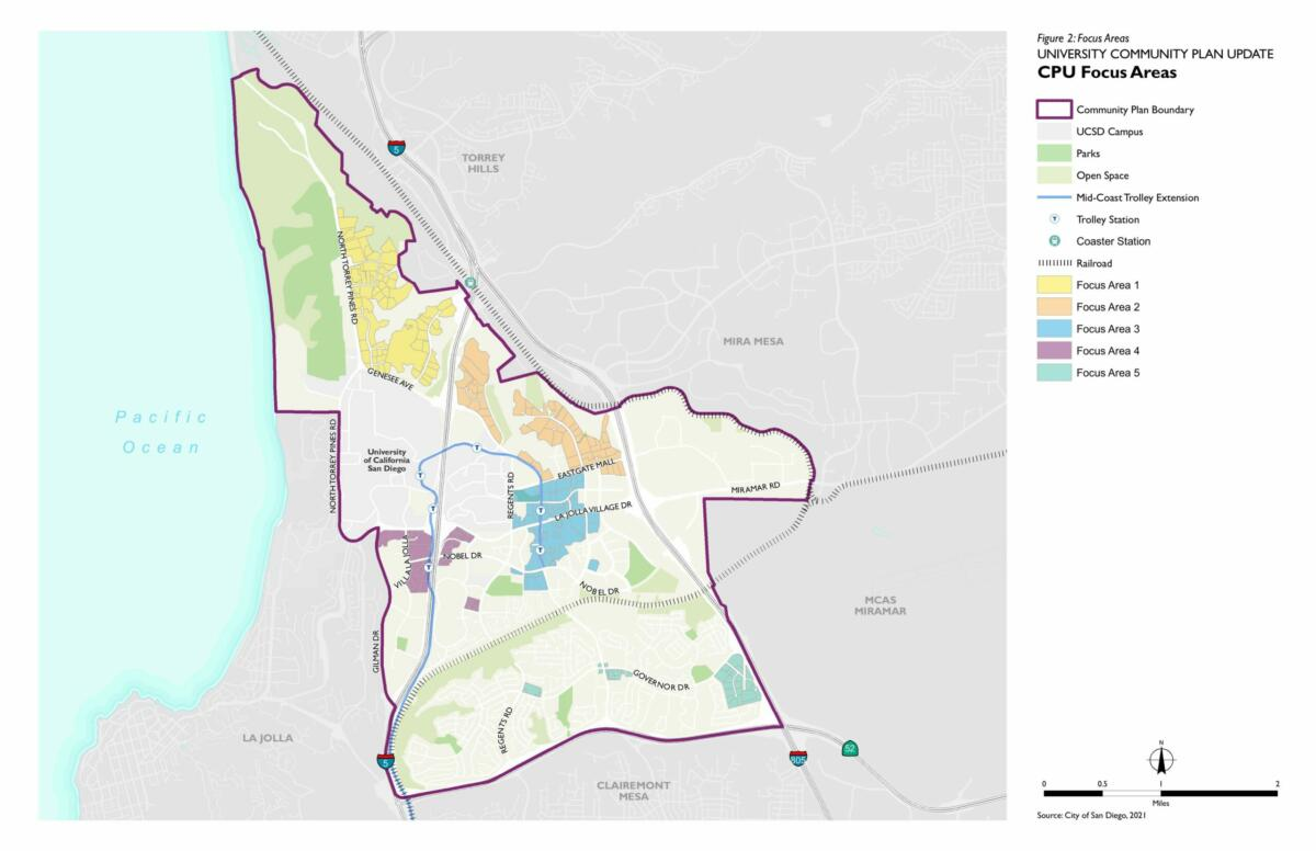 University Community Plan Update CPU Focus Areas 2021